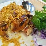 Crispy chicken is yummylicious
