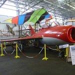Mig plane at the Evans Head Memorial Aviaiton Museum.