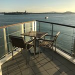 The Hilton Auckland New Zealand. Views are fantastic.