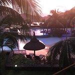 Relaxing at Laguna beach resort and spa Mauritius lots of rain but very hot 😘xx