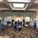 The surviving photo of the hotel lobby, that the doorman DIDN'T force me to delete.