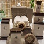 In-room amenities at Premium level rooms