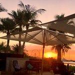 Palace Esplanade Pool Bar terrace typical sunset