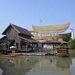 Pattaya Floating Market Foto
