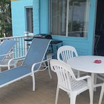 Morning coffee on your deck in Osprey apt.