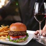 Prime Steak Burger + Wine = Perfect Happy Hour Pair