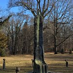 Mid-winter visit to outdoor sculpture garden