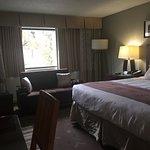 Comfortable rooms,  on bottom floor