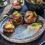 Trio of Latvian beef tenderloin steak from farm Ošmalas