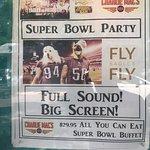 Super Bowl party at CM's