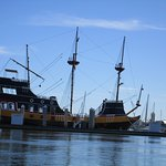you can ride on a Pirate Ship in St. Augustine