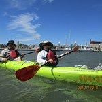 Kayaks had rudders...