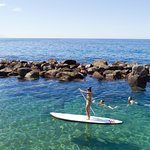 Paddle boarding at Costa Sur Puerto Vallarta