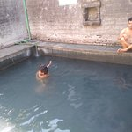 hot natural bath