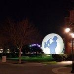 las vistas nocturnas del Disney Music