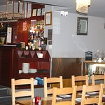 Bar area and seating