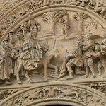 Religious Scene on the Tympanum