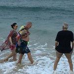 Getting feet wet in the Arabian Sea