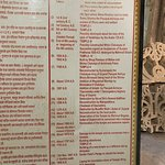 A timeline of the invasions and plunders of Somnath temple is presented at the Museum