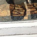 Lovely sausage rolls freshly baked