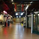 Empty Corridor in Mall