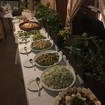 Greek night buffet kali Orexi