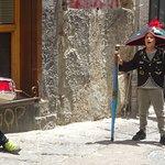Earlier-Era Costumes on Spaccanapoli