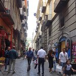 View of Narrow Spaccanapoli