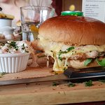 Chargrilled Chicken Burger with Mull Chedder