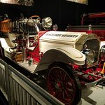 1 of many fire engines at the museum.