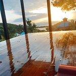Yoga studio on top of property