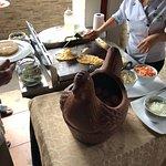 Cook to order egg station for breakfast service.