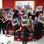 Trivia night and painting classes at Painting with a Twist