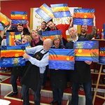 Private team-building events for businesses at Painting with a Twist