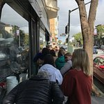 Line outside the bakery