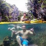 cool rocks underwater