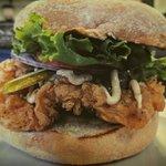 Crispy Chicken Chipotle Burger