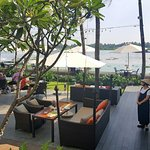 along the Saigon river