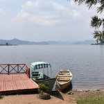 The canoe trekking point at Lake Mutanda, Kisoro, Uganda