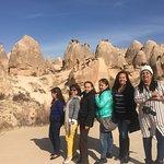 ESPECTACULAR serie de valles, y una población del valle de Goreme , en la región de Capadocia