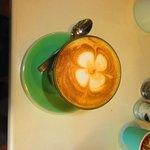 Soy Latte...yummm!