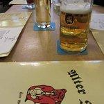 Menu and Beer