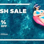 Up to 30% off, book through hotel website now until 19th March Stay Date: 18th Mar- 31st Dec 201