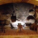 Recreación antigua cocina