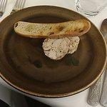 Desert at the restaurant: Chicken parfait (Quite nice)