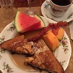 Apple Blueberry Walnut Pancake