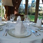The Award-winning Oak Room Restaurant, recently named the 'Best Restaurant in Hampshire'