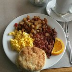 Corned Beef Hash and Eggs