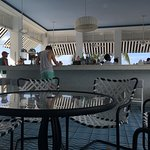 Bar next to the pool.
