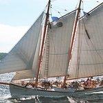 Sailing up Penobscot Bay